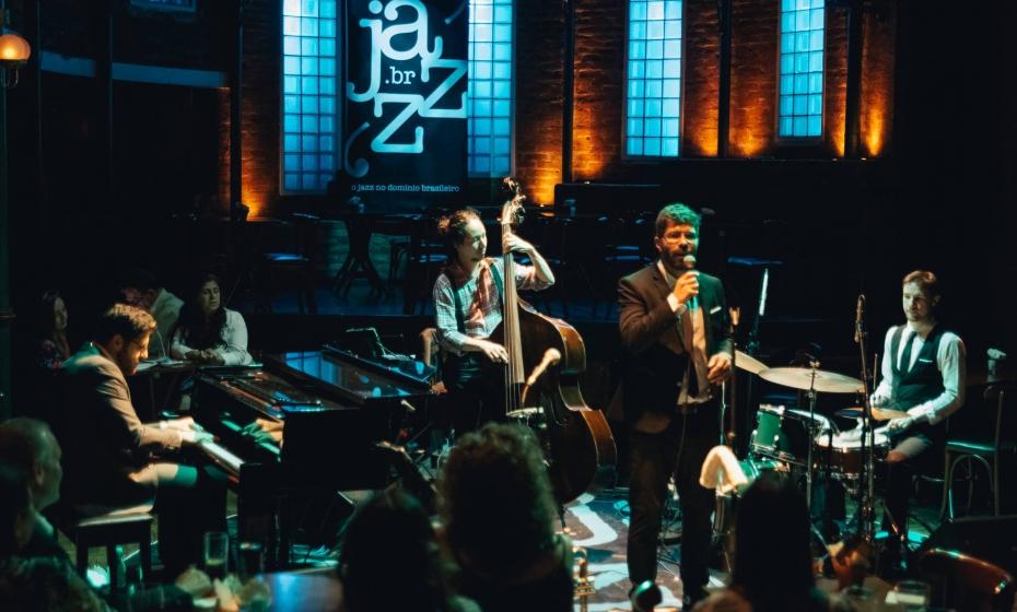 David Kerr & Canastra Trio no JazzB